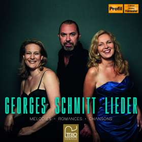 Georges Schmitt (1821-1900): Lieder, CD