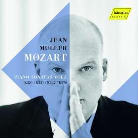 Wolfgang Amadeus Mozart (1756-1791): Klaviersonaten Nr.3,11,12,17, CD
