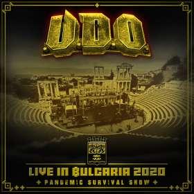 U.D.O.: Live in Bulgaria 2020 - Pandemic Survival Show, CD