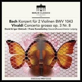 David & Igor Oistrach spielen Violinkonzerte (180g), LP