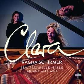 Clara Schumann (1819-1896): Klavierkonzert Nr.1 op.7, CD