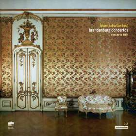 Johann Sebastian Bach (1685-1750): Brandenburgische Konzerte Nr.1-6 (180g), LP