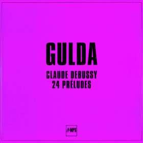 Claude Debussy (1862-1918): Preludes Heft 1 & 2 (180g), LP