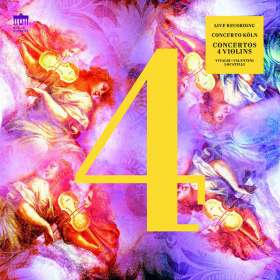 Concerto Köln - Concertos for 4 Violins (180g), LP