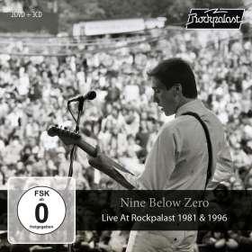 Nine Below Zero: Live At Rockpalast 1981 & 1996 (3CD+2DVD Box), CD