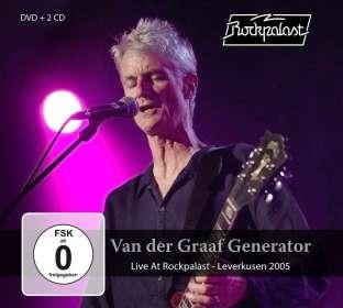 Van Der Graaf Generator: Live At Rockpalast - Leverkusen 2005, 2 CDs