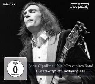 John Cipollina / Nick Gravenites Band: Live At Rockpalast - Dortmund 1980, 2 CDs