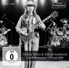 Dickey Betts: Live At Rockpalast 1978 And 2008, 3 CDs