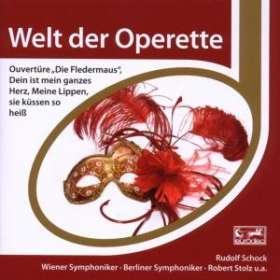 Rudolf Schock - Welt der Operette, CD