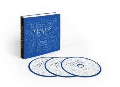 Wolfgang Amadeus Mozart (1756-1791): Cosi fan tutte (Deluxe-Ausgabe), 3 CDs