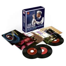 Jean Martinon - Chicago Symphony Orchestra, the Complete Recordings, 10 CDs