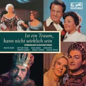 Ist ein Traum, kann nicht wirklich sein (Eurodisc Opernquerschnitte in deutscher Sprache), 10 CDs