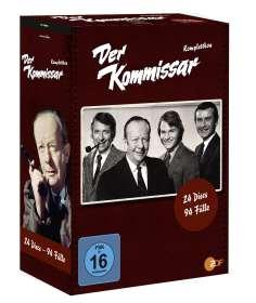 Der Kommissar (Komplette Serie), DVD