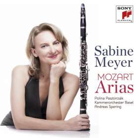 Sabine Meyer - Mozart Arias, CD