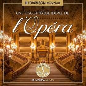 Une Discotheque ideale de l'Opera - 25 Gesamtaufnahmen, 56 CDs