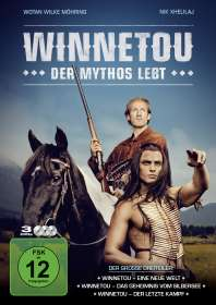 Winnetou - Der Mythos lebt, 3 DVDs