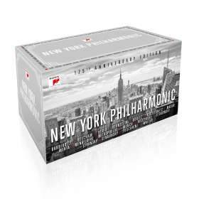New York Philharmonic - 175th Anniversary Edition, 65 CDs