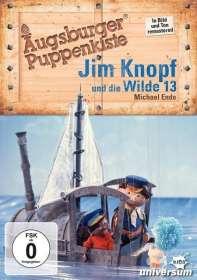 Manfred Jenning: Augsburger Puppenkiste: Jim Knopf und die Wilde 13, DVD
