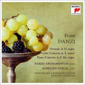 Franz Danzi (1763-1826): Klavierkonzert Es-Dur op.4, CD
