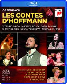 Jacques Offenbach (1819-1880): Les Contes D'Hoffmann, Blu-ray Disc