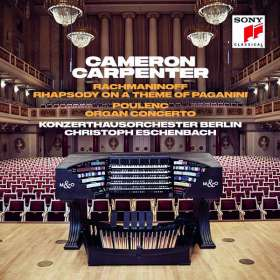 Cameron Carpenter - Rachmaninoff / Poulenc, CD