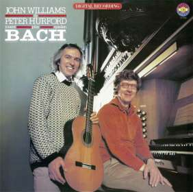 John Williams & Peter Hurford play Bach (Exklusiv für jpc), CD