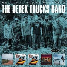 The Derek Trucks Band: Original Album Classics, 5 CDs
