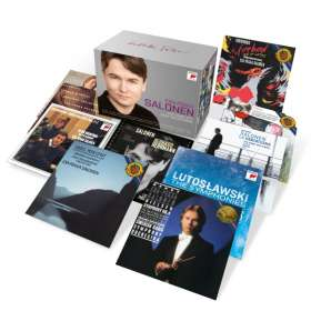 Esa-Pekka Salonen - The Complete Sony Recordings, 61 CDs