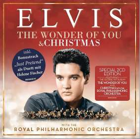 Elvis Presley (1935-1977): The Wonder Of You - Christmas Edition, 2 CDs