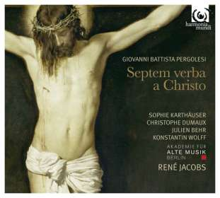 Giovanni Battista Pergolesi (1710-1736): Septem Verba a Christo, CD