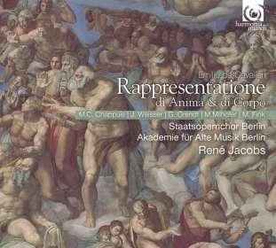 Emilio de Cavalieri (1550-1602): Rappresentatione di Anima e di Corpo, 2 CDs