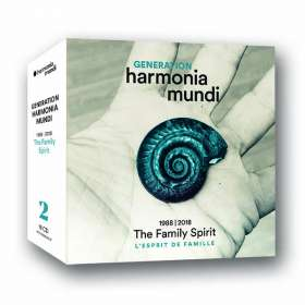"Generation harmonia mundi 1988 - 2018 ""The Family Spirit"", 18 CDs"