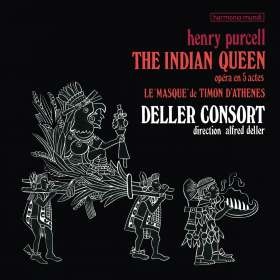 Henry Purcell (1659-1695): The Indian Queen (180g), LP