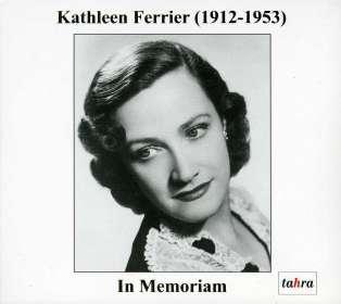 Kathleen Ferrier - In Memoriam, CD
