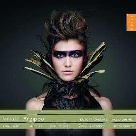 Antonio Vivaldi (1678-1741): Argippo, CD