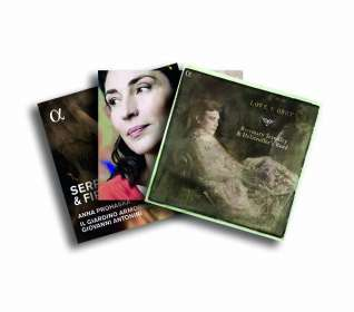 3 Alpha-Recitals: Love I Obey / Neere / Serpent and Fire (exklusiv für jpc), 3 CDs
