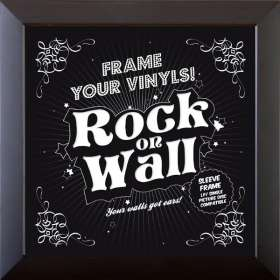 LP Frame - schwarz, Merchandise