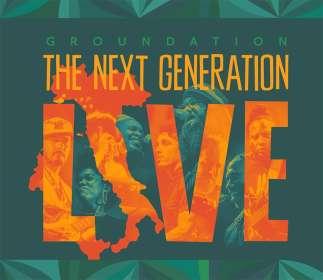 Groundation: The Next Generation Live, CD