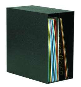 LP-Regal-Box für bis zu 50 LPs, schwarz, Zubehör