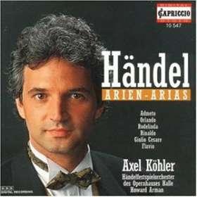 Axel Köhler singt Händel-Arien, CD