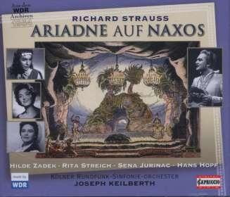 Richard Strauss (1864-1949): Ariadne auf Naxos, CD