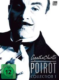 Agatha Christie's Hercule Poirot: Die Collection Vol.1, 3 DVDs