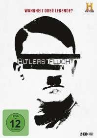 Jeff Daniels: Hitlers Flucht - Wahrheit oder Legende?, DVD