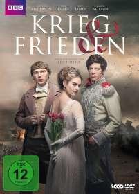 Krieg und Frieden (2015), 3 DVDs