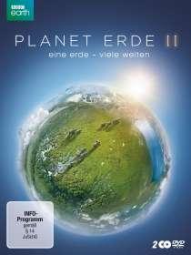 Planet Erde 2: Eine Erde - Viele Welten, 2 DVDs