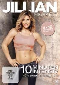 Jillian Michaels - 10 Minuten Intensiv für Bauch, Beine, Po, DVD