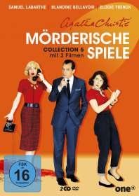 Oliver Panchot: Agatha Christie: Mörderische Spiele Collection 5, DVD