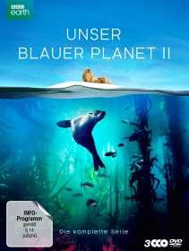 Unser blauer Planet II (Komplette Serie), 3 DVDs
