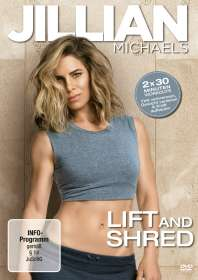 Jillian Michaels: Lift and Shred, DVD
