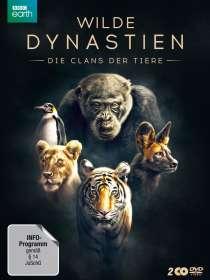 Wilde Dynastien - Die Clans der Tiere, 2 DVDs